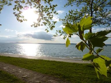 Vonzó lakhely a Balaton
