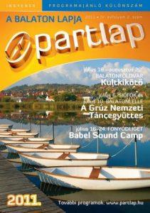 Partlap - A Balaton lapja 2011 nyár