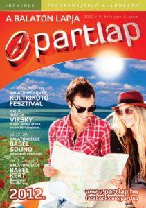 Partlap - A Balaton lapja 2012 nyár