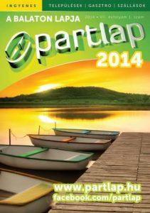 Partlap - A Balaton lapja 2014 tavasz