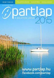 Partlap - A Balaton lapja 2015 tavasz