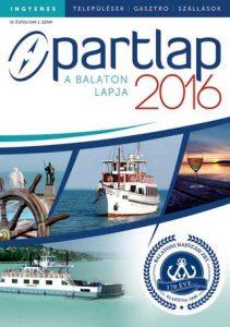 Partlap - A Balaton lapja 2016 tavasz