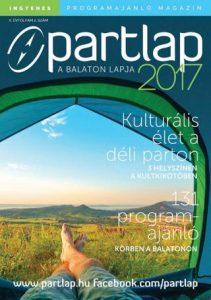 Partlap - A Balaton lapja 2017 nyár