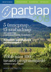 Partlap - A Balaton lapja 2018 tavasz