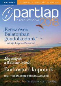 Partlap - A Balaton lapja 2018 ősz/tél